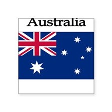 Australia Square Sticker