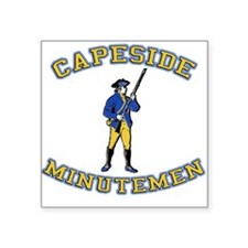 Capeside Minutemen Square Sticker
