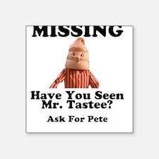 Pete & Pete Mr. Tastee Square Sticker