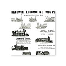 The Baldwin Locomotive Works Square Sticker