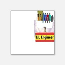 LIL Engineer Creeper Square Sticker