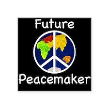 Future Peacemaker Square Sticker