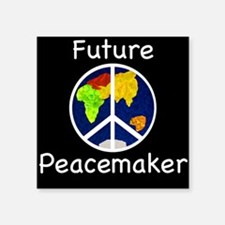 Future Peacemaker Square Sticker