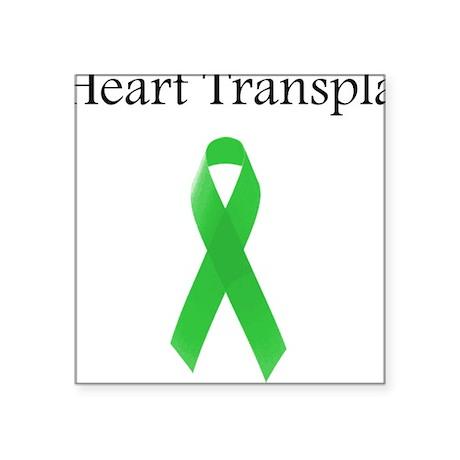 Heart Transplant Survivor Square Sticker