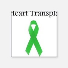 Heart Transplant Survivor Square Sticker