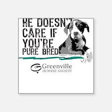 GHS-Pure Bred-Square Sticker