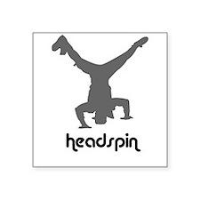 Headspin 04 Square Sticker