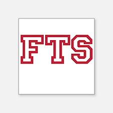 FTS Square Sticker