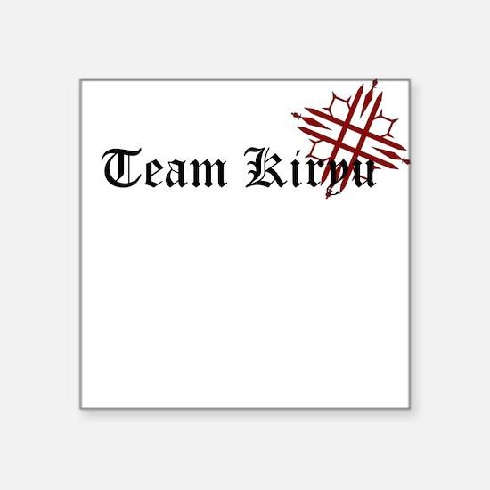 Team Kiryuu Square Sticker