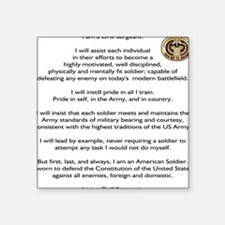 Drill Sergeants Creed / Patch Square Sticker