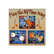Play Old Time Square Sticker