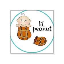 lil peanut Square Sticker