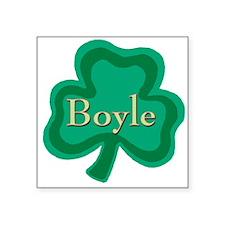Boyle Irish Surname Square Sticker