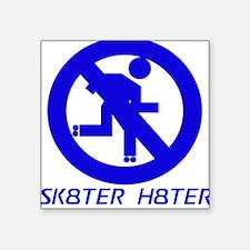 SK8TER H8TER Square Sticker