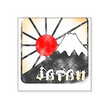 Mt Fuji Japan Square Sticker