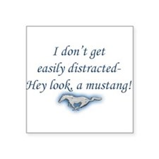Mustang Square Sticker