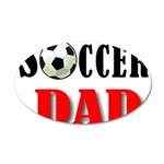 SOCCER DAD.png 22x14 Oval Wall Peel