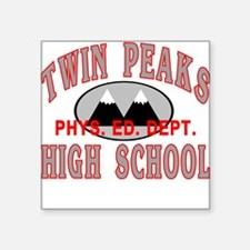 Twin Peaks PE Square Sticker