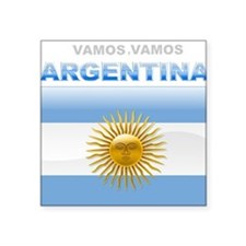 Vamos Argentina Square Sticker