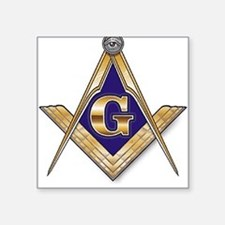 Masonic Square Sticker