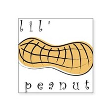 Lil' Peanut Creeper Square Sticker