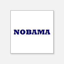 Nobama Square Sticker