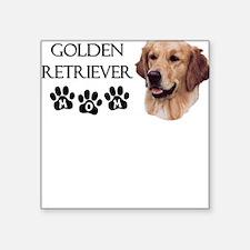 Golden Mom Square Sticker