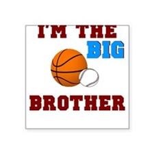 Big brother sport Square Sticker