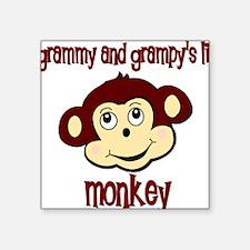 lil monkey Square Sticker