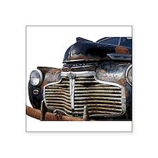 Vintage Chevrolet Square Sticker
