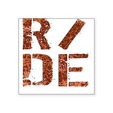 R/DE Square Sticker