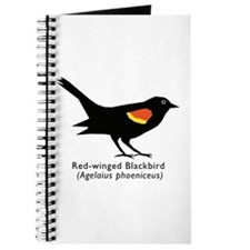 red-winged blackbird Journal