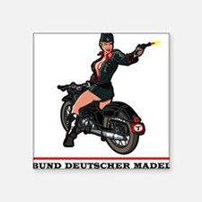 DEUTSCHER MADEL Square Sticker