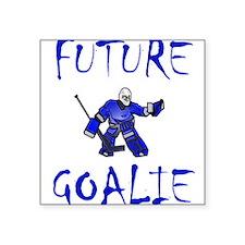 FUTURE GOALIE Square Sticker