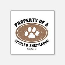 Sheprador dog Square Sticker