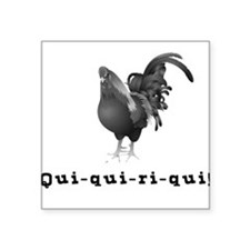 El Gallo Square Sticker