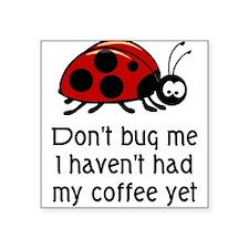 Coffee Lover Square Sticker