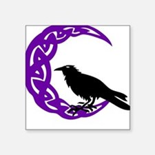MoonCrow Square Sticker