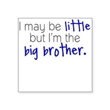Little Big Brother Square Sticker