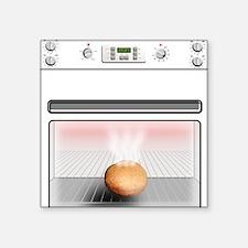 Bun In The Oven Square Sticker