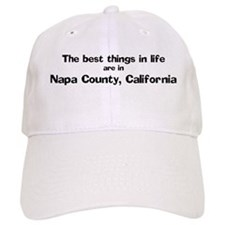 Napa County: Best Things Baseball Cap