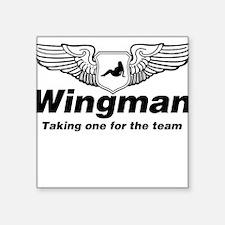 Wingman Square Sticker