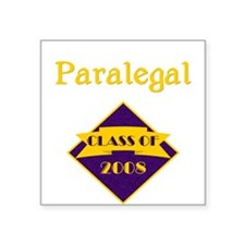 Paralegal Square Sticker