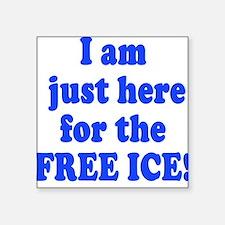 Free Ice Square Sticker