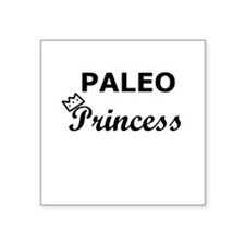 Paleo Princess Square Sticker