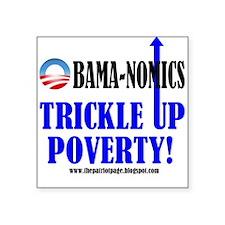 Obama-nomics Square Sticker
