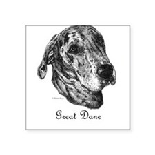 Merle Dane Square Sticker
