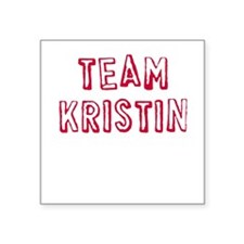 Team Kristin Square Sticker