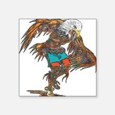 Eagle Dancer Square Sticker