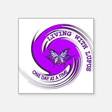 Lupus Awareness Square Sticker